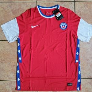 Nike Chile Home Soccer Jersey